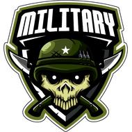 Наклейка Military, фото 1