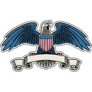Наклейка Американский орел, фото 1