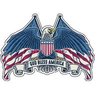 Наклейка God Bless America, фото 1