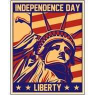 Наклейка День независимости, фото 1