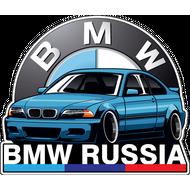 Наклейка BMW Russia, фото 1