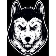 Наклейка Голова собаки, фото 1