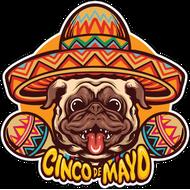 Наклейка Собака мексиканца, фото 1