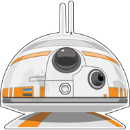 Наклейка Star Wars BB-8, фото 1