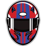 Наклейка Шлем, фото 1