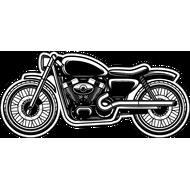 Наклейка Мотоцикл, фото 1