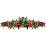 Наклейка Розы, фото 1