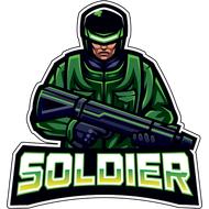 Наклейка Soldier, фото 1