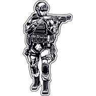 Наклейка SWAT, фото 1
