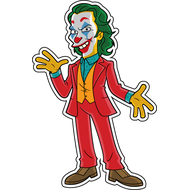Наклейка Джокер-090, фото 1