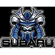 Наклейка Самурайский шлем Subaru, фото 1