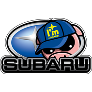 Наклейка Subaru, фото 1