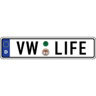 Наклейка VW LIFE, фото 1