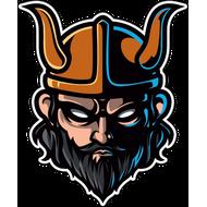 Наклейка Викинг в шлеме, фото 1