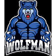 Наклейка Wolfman-095, фото 1