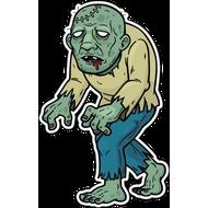 Наклейка Зомби, фото 1