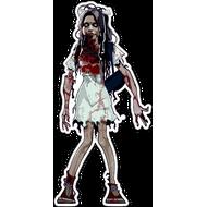 Наклейка Девочка зомби, фото 1