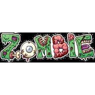 Наклейка Zombie, фото 1