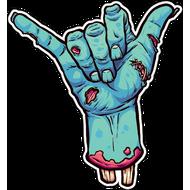 Наклейка Рука зомби, фото 1