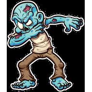 Наклейка Дэб от Зомби, фото 1