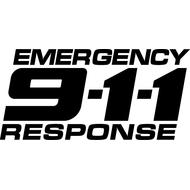 Наклейка Emergency 911Response, фото 1