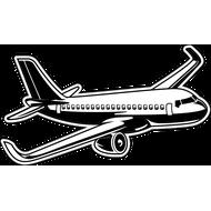 Наклейка Самолет-2, фото 1