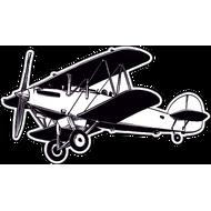 Наклейка Самолет-6, фото 1