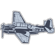 Наклейка Самолет-10, фото 1