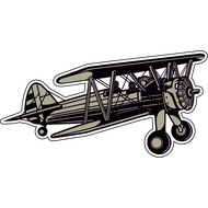 Наклейка Самолет-11, фото 1
