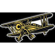 Наклейка Самолет-14, фото 1