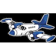 Наклейка Самолет-18, фото 1