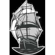 Наклейка Корабль, фото 1