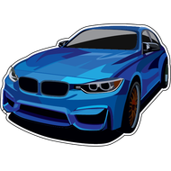 Наклейка BMW-008, фото 1