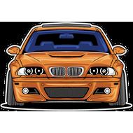 Наклейка BMW-013, фото 1