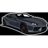 Наклейка Lamborghini, фото 1