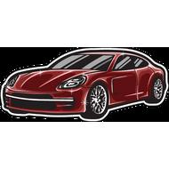 Наклейка Porsche, фото 1