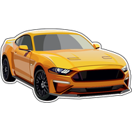 Наклейка Ford Mustang, фото 1