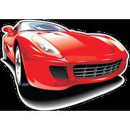 Наклейка Ferrari-69, фото 1