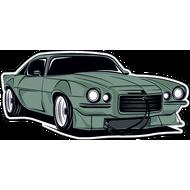 Наклейка Автомобиль-70, фото 1