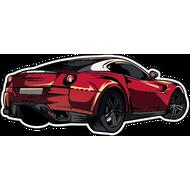 Наклейка Ferrari-71, фото 1
