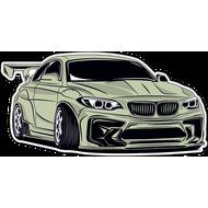 Наклейка BMW-090, фото 1