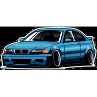 Наклейка BMW-099, фото 1