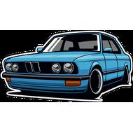 Наклейка BMW, фото 1