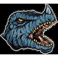 Наклейка Дракон-119, фото 1