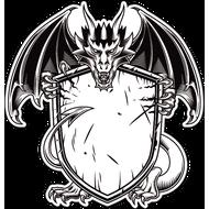 Наклейка Дракон-131, фото 1