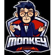 Наклейка Monkey gamer, фото 1