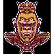 Наклейка Царь обезьян, фото 1