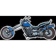 Наклейка Мотоцикл-136, фото 1