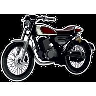 Наклейка Мотоцикл-137, фото 1