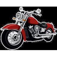 Наклейка Мотоцикл-138, фото 1
